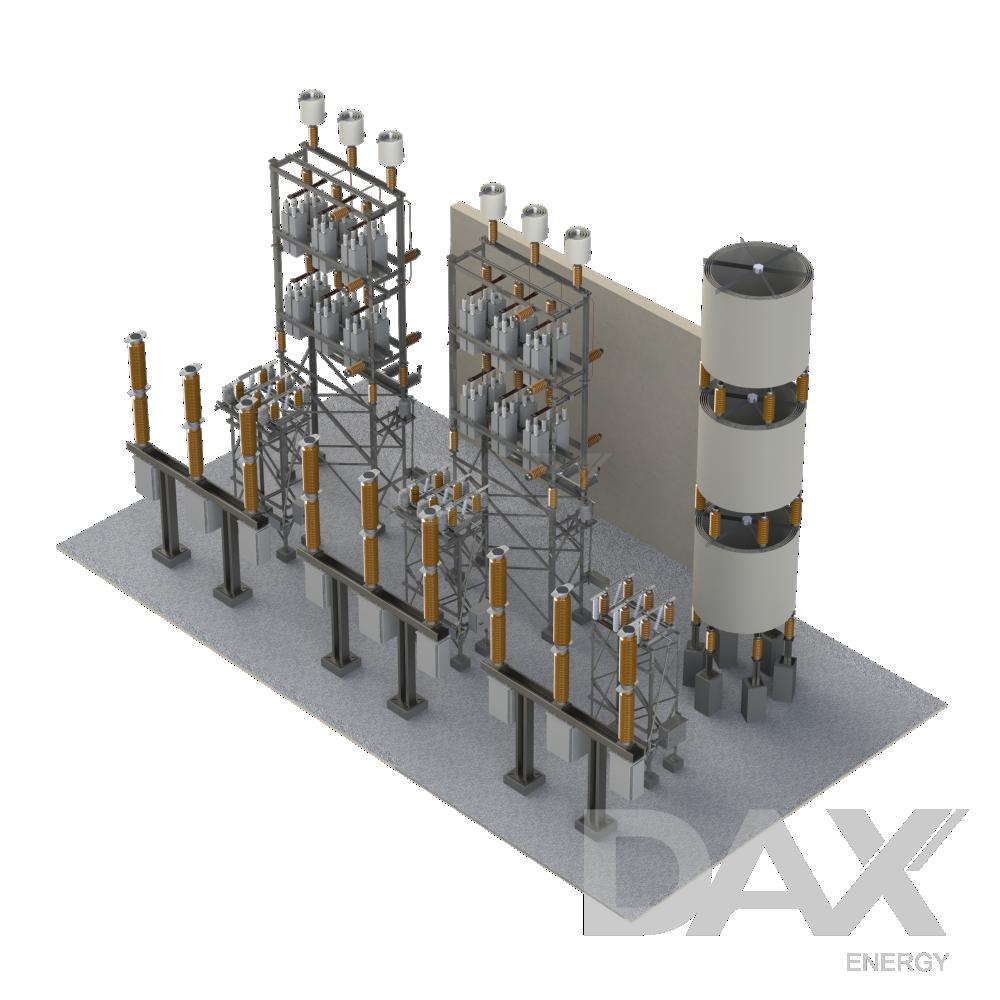 Banco de reatores | Shunt
